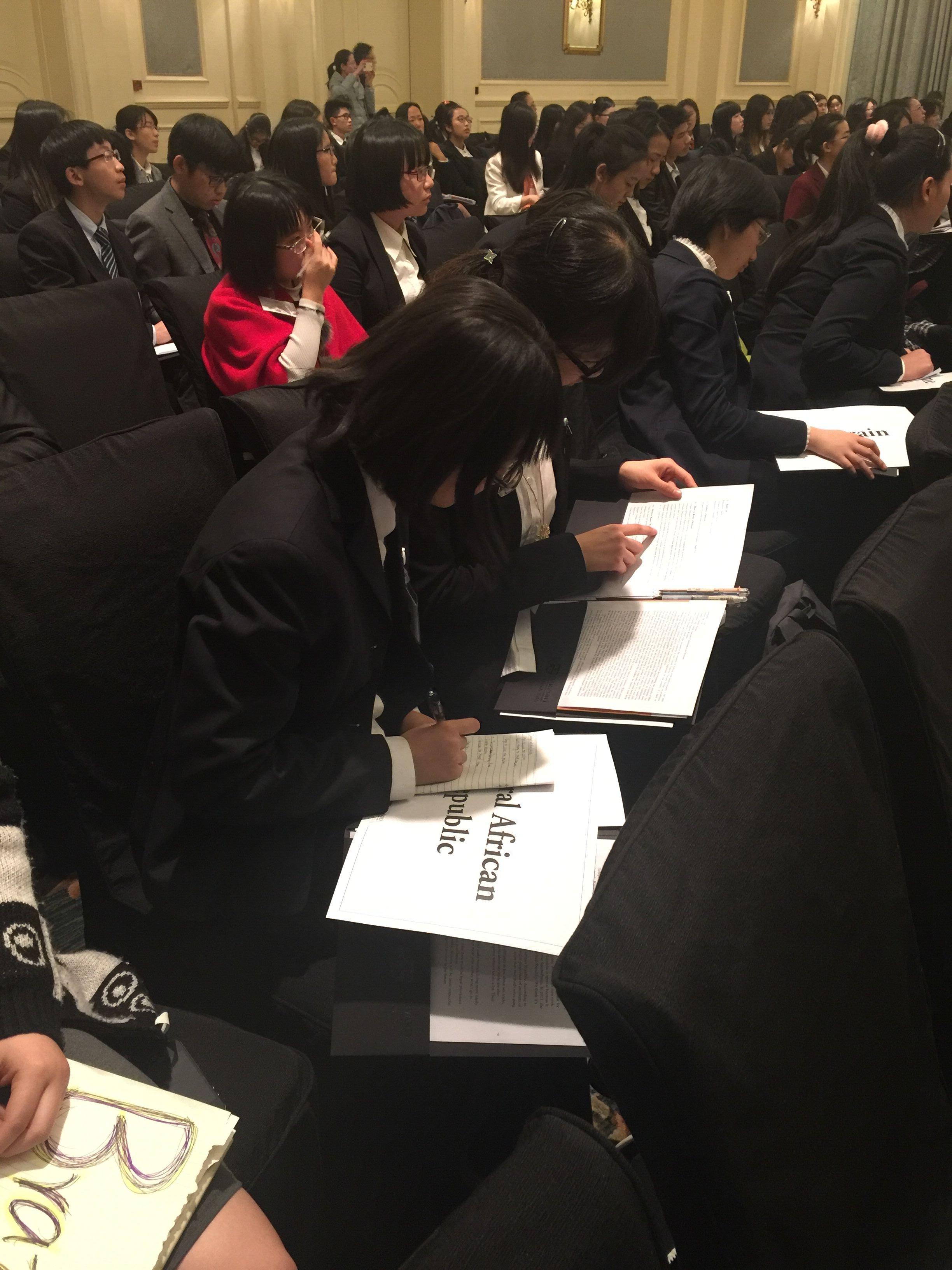 我校参与哈佛大学模拟联合国(HMUN CHINA 2016)中国会议 北京中加学校 Beijing Concord ...